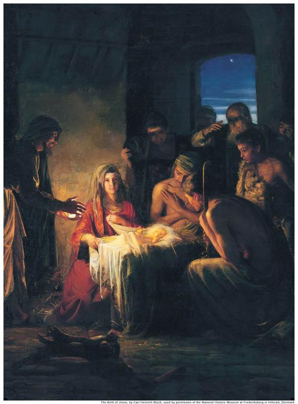 Birth Jesus Nativity Mormon