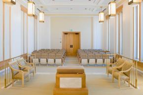 Oquirrh Mt. Mormon Temple Endowment Room