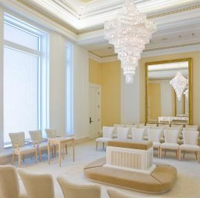 Oquirrh Mt. Utah Mormon Temple Sealing Room