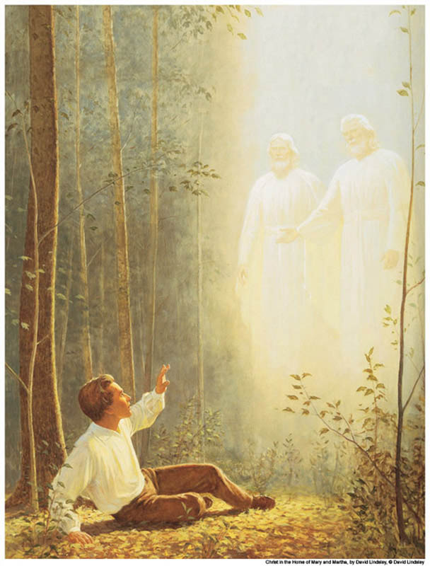 First Vision Joseph Smith Mormon