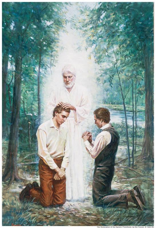 John Baptist Aaronic Priesthood Mormon