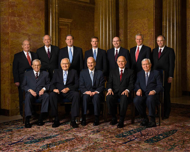 Mormon Leaders Twelve Apostles