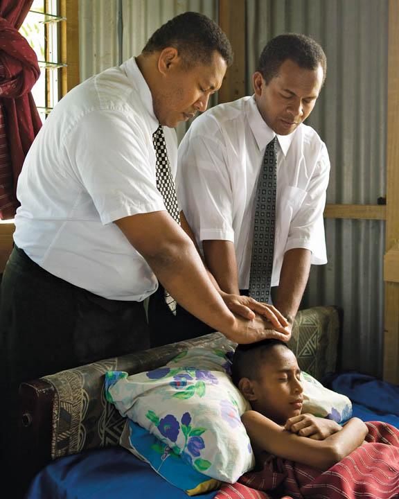 Mormon Priesthood Blessing