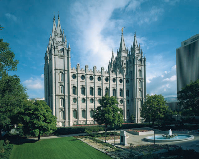 Mormon Temples Salt Lake