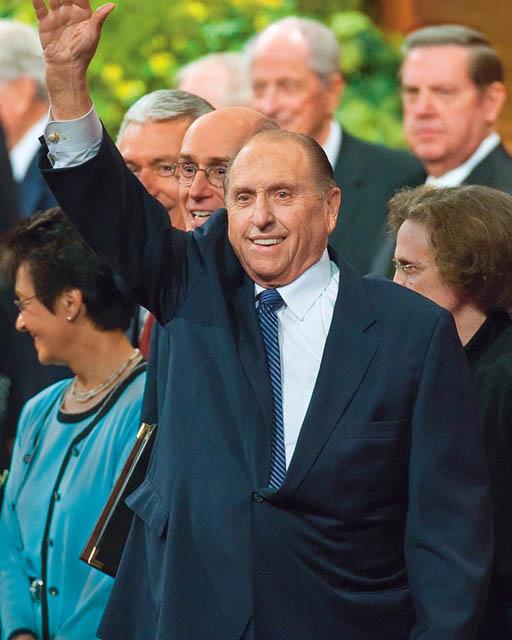 Thomas S Monson Mormon President