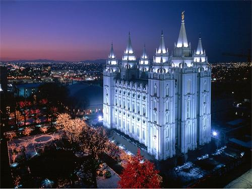 Salt Lake Mormon Temple