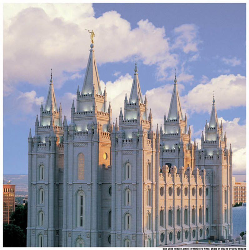 Salt Lake Temple Mormon