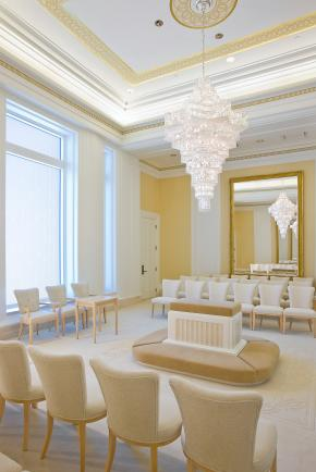 Oquirrh Mt. Utah Temple sealing room
