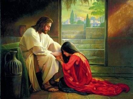 Jesus forgives sinners Mormon