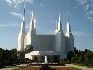 Washington DC Mormon Temple