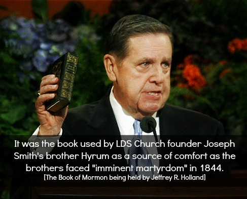 Apostle of Mormon Church Jeffrey R. Holland Testify of the Truthfulness of the Book of Mormon