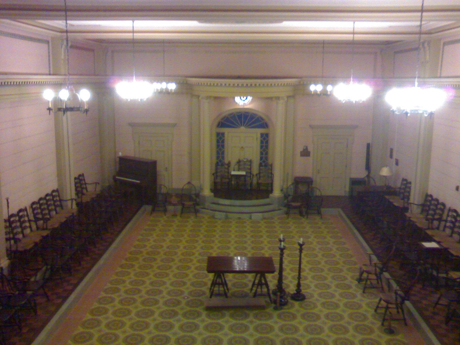 Masonic Lodge Room - Salt Lake Masonic Temple