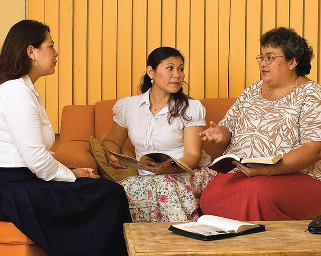 LDS visiting teachers