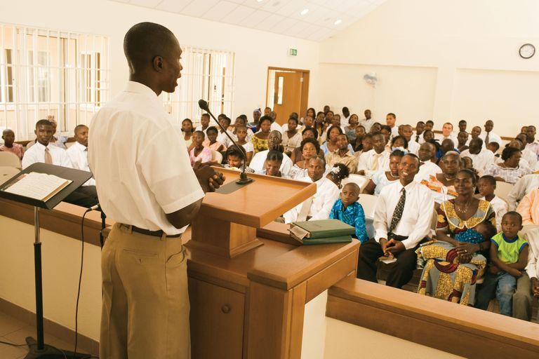 fast and testimony meeting mormon