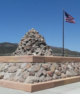 Mountain Meadows Massacre Monument By Mangoman88 via Wikimedia Commons