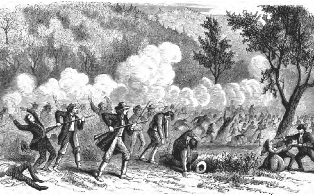 Picture of the Mountain Meadows Massacre