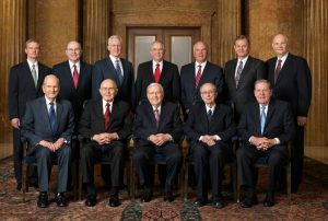 Official portrait of the Quorum of the Twelve Apostles