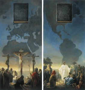 The Bible and the Book of Mormon Testify of Christ (The Bible and Book of Mormon: Two Witnesses) by Greg K. Olsen via lds.org © intellectual reserve
