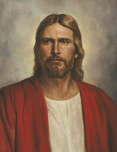 Jesus the Christ by Del Parson via lds.org © intellectual reserve